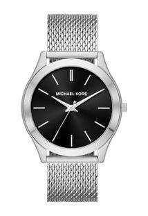 Relógio Michael Kors Feminino Essential Slim Runway Prata