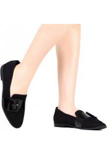 Sapato Zariff Fivela Verniz