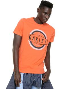 Camiseta Oakley Saw 2.0 Laranja