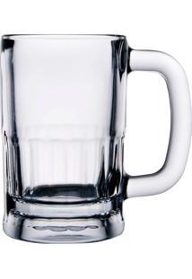 Caneca Para Chopp Em Vidro 355Ml - Libbey - Transparente