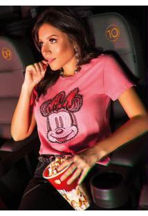 Blusa Rosa Disney Vintage