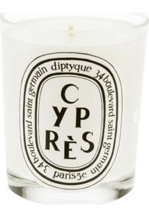 Diptyque Vela Aromática Modelo 'Cypres' - Branco