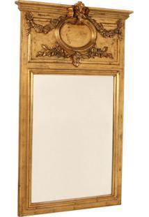 Espelho Decorativo Clássico L'Aigle De Parede Com Moldura De...