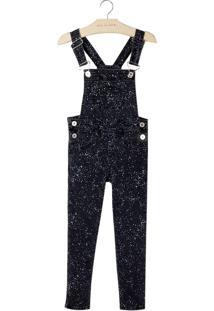 Macacao Stella (Jeans Black Medio, 10)