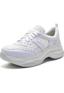 Tênis Sneaker Chuncky Ellas Online Branco