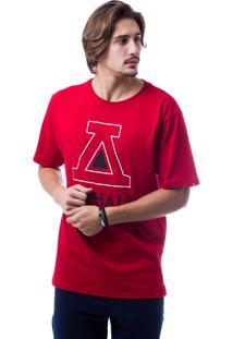 Camiseta Asphalt Big A Vermelho