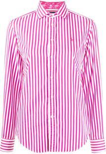 Polo Ralph Lauren Stripe Print Shirt - Rosa