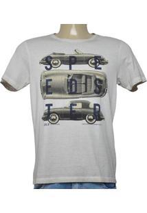 Camiseta Masc Jab 01C004-30 Areia