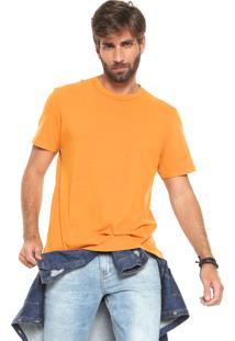 Camiseta Hering Básica Amarela