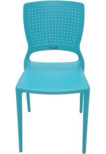 Cadeira Tramontina Safira 92048/070 Azul Se