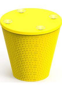 Base Para Mesa Fluo Amarela