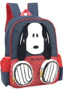 Mochila Escolar Snoopy