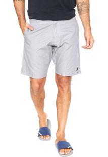 Bermuda Jeans Hurley Cos Cement Cinza