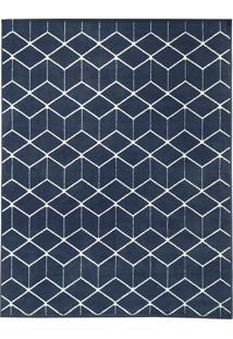 Tapete De Sala Belga Ambience Des 3 - 3,00X4,00M - Edantex - Azul - Dafiti