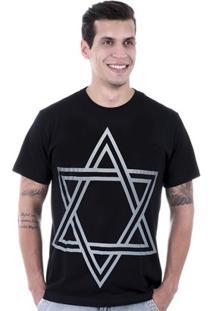 Camiseta Hardivision Estrela De Davi - Masculino