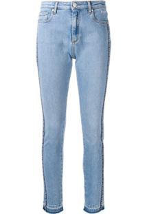 Msgm Calça Jeans Skinny - Azul