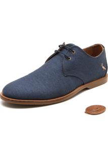 Sapato Social Reserva Terone Azul