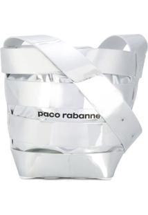 Paco Rabanne Bolsa Tiracolo De Couro - Metálico