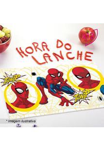Jogo De Toalhas De Lancheira Spider Man®- Branco Vermelepper