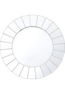Espelho Royal Redondo De Parede Incolor - Prata - Dafiti