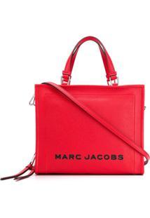Marc Jacobs Bolsa Tote Com Logo - Vermelho