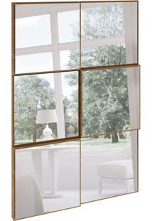 Espelho Decorativo Sérgio (50X75) Freijó