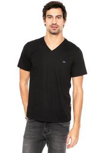 Camiseta Triton Reta Preta