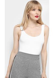 Body Lupo Liso Sem Costura Feminino - Feminino
