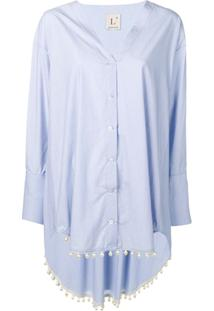79f542dfd Camisa Perola Rosa feminina