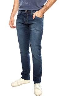Calça Jeans Forum Igor Pespontos Azul
