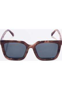 4bea5c678 ... Óculos De Sol Feminino Quadrado Estampado Marisa