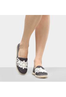 Alpargata Shoestock Bordado Flores Feminina