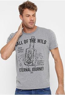 Camiseta Colcci Estampada Masculina - Masculino