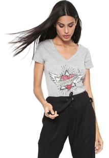 Blusa Hering Rock And Roll Cinza - Kanui