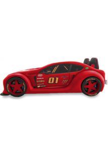 Cama Carro Zmax Racing - Vermelha - Vermelho - Dafiti