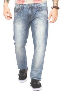 Calça Jeans Triton Puídos Azul