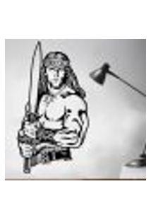 Adesivo De Parede Conan O Barbaro - G 90X48Cm