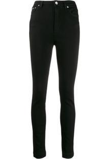 Dolce & Gabbana Calça Jeans Skinny Cintura Alta - Preto