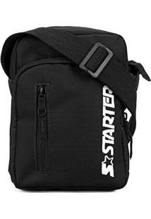 Bolsa Shoulder Bag Starter Logo - Masculino-Preto