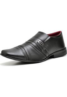 Sapato Social Ousy Shoes Preto Fosco