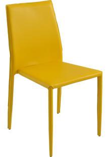 Cadeira Amanda Amarela Rivatti Móveis