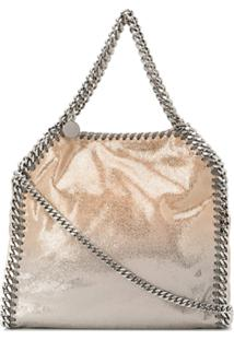 Stella Mccartney Bolsa Falabella Mini - Dourado