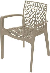 Cadeira Gruver Com Braco Polipropileno Fendi - 30478 - Sun House