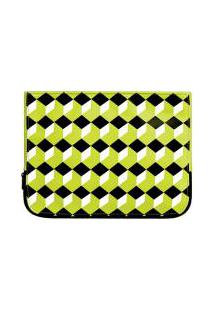 Necessaire Colorful Green Pouch
