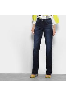 Calça Jeans Slim Forum Marisa Cintura Alta Feminina - Feminino