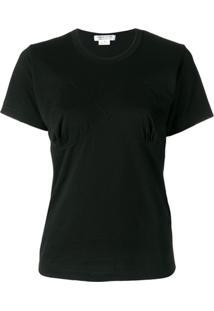 Comme Des Garçons Comme Des Garçons Camiseta Mangas Curtas - Preto
