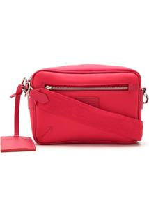 Schutz Bolsa Tiracolo Com Logo - Vermelho