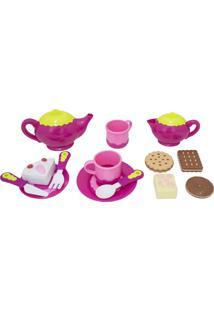 Conjunto De Chá Infantil De Brinquedo Chaleira E Acessórios