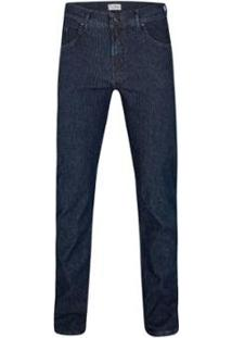 Calça Jeans Listras Evolution Masculina - Masculino-Marinho