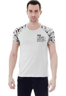 Camiseta Raglan Masculina Fkn Menswear - Cinza